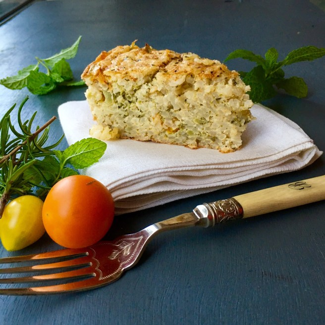 Risotto bake recipe