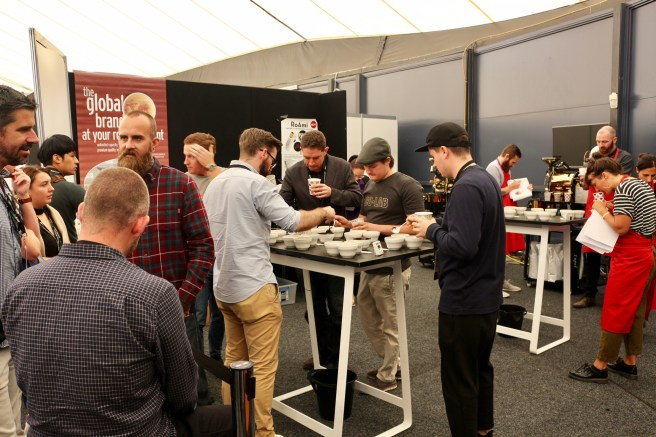 Cup Tasters Championship at Melbourne International Coffee Expo