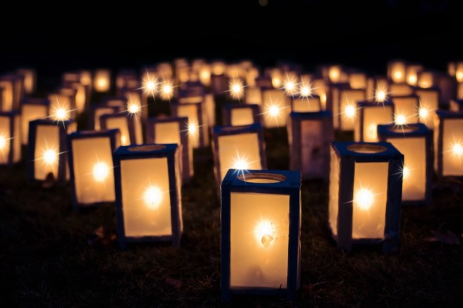 Winter Solstice. Light candles.