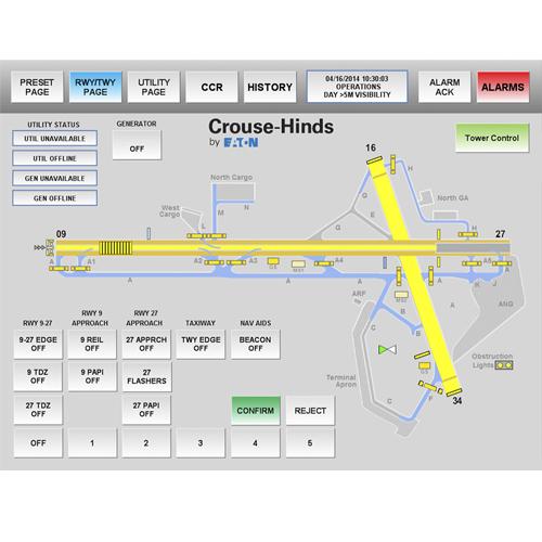 pro command alcms airport lighting
