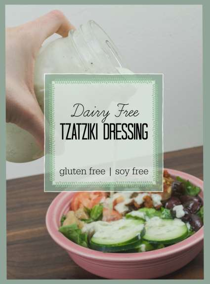 Tzatziki Dressing Text Photo
