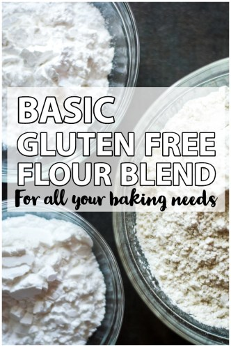 basic gluten free flour blend