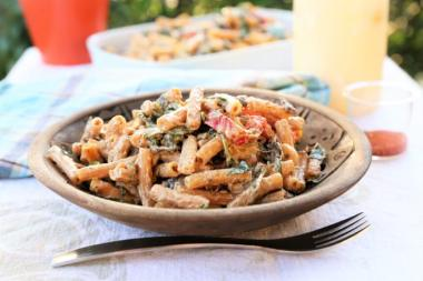 quick weeknight dinner creamy cajun pasta