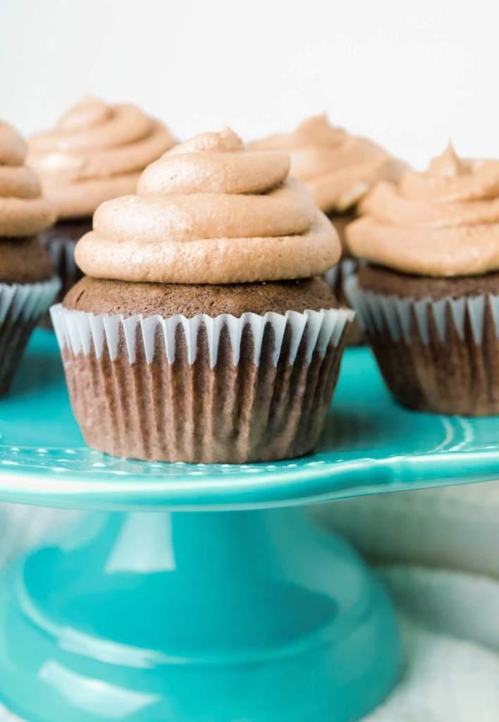 soft chocolate cupcake vegan gluten free