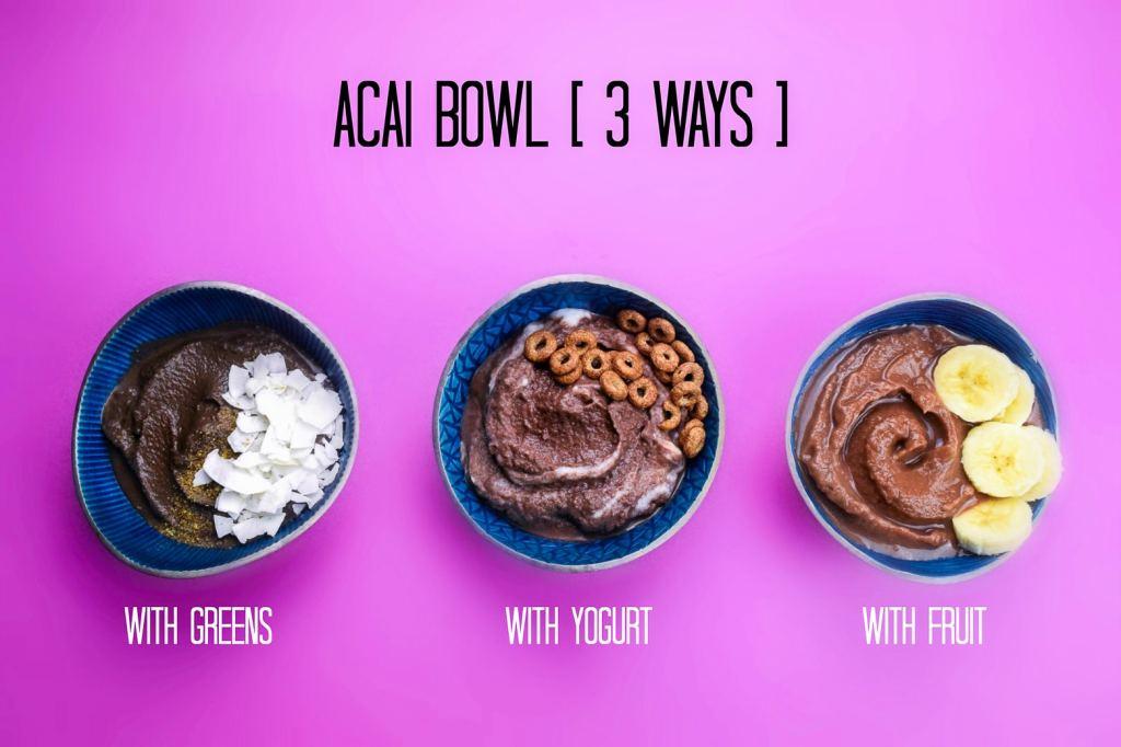 acai bowls