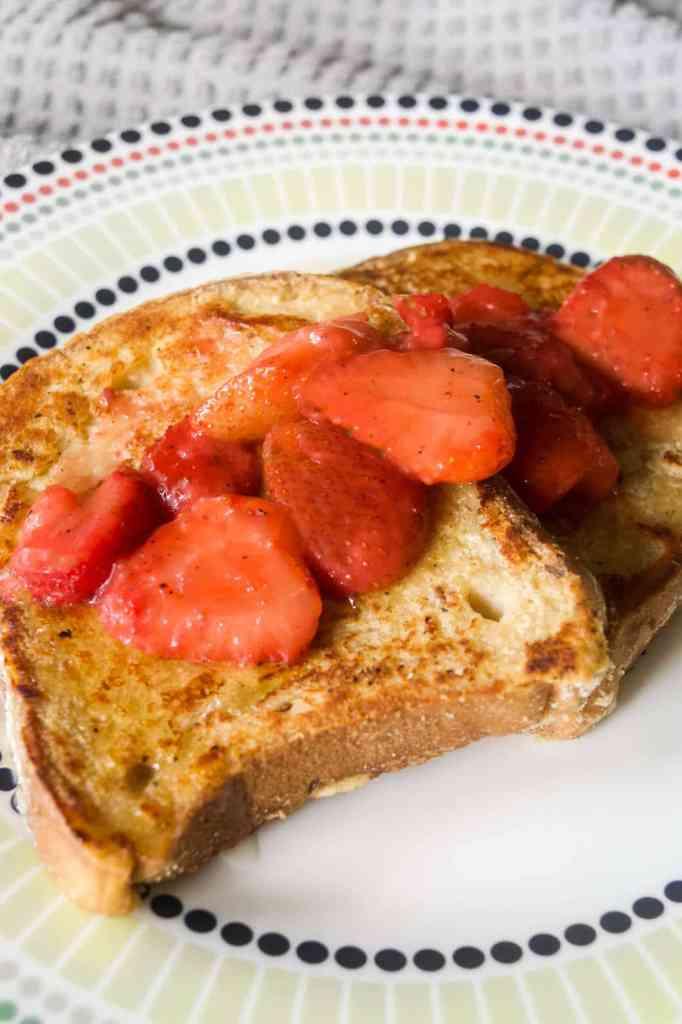 egg free french toast recipe