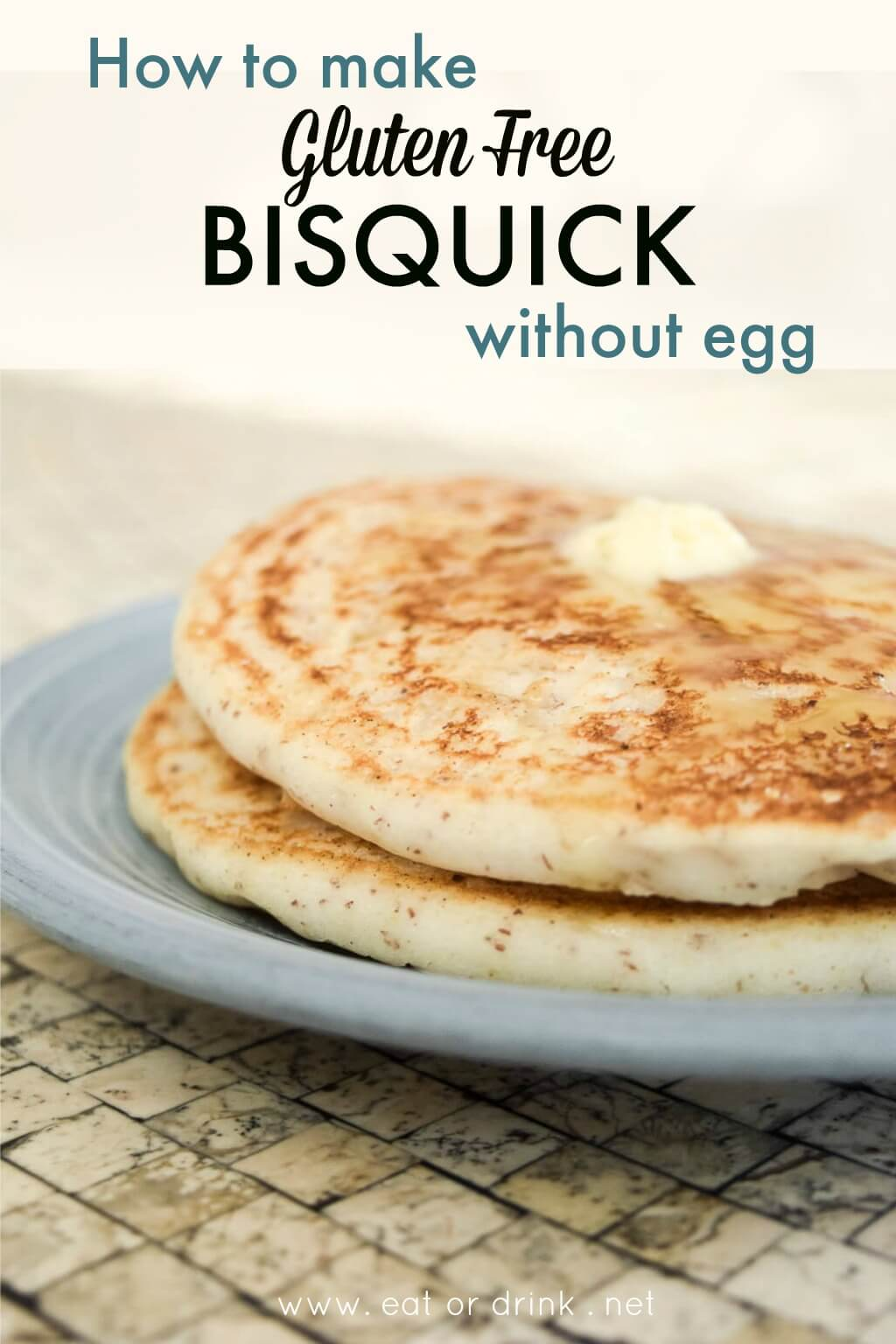 How to make gluten free bisquick pancakes without egg eatordrink how to make gluten free bisquick without egg ccuart Choice Image