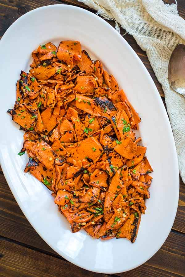 11 dairy free pumpkin recipes - roasted pumpkin salad