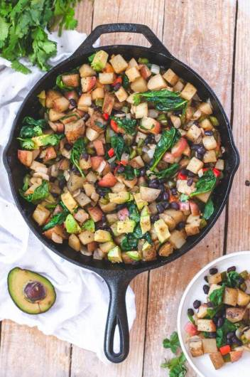 gluten free vegan breakfast easy potato skillet