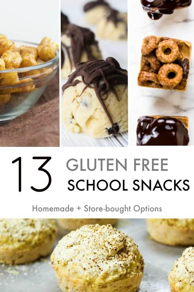 gluten free back to school school snacks for kids