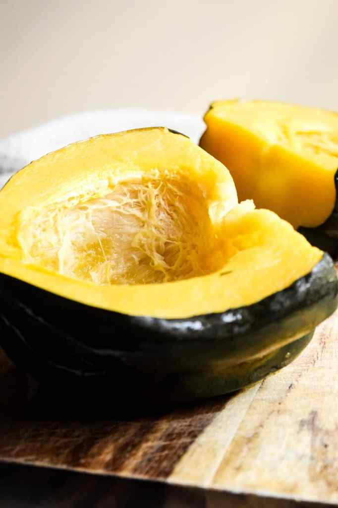 acorn squash roasted for soup recipe