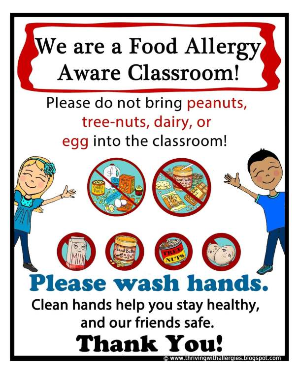 Life with food allergies guide for students and parents