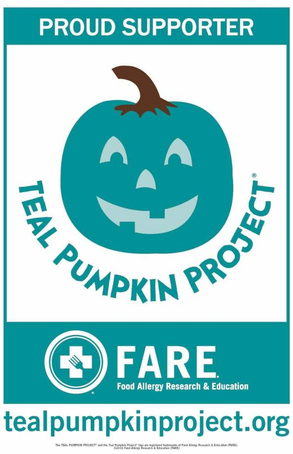the-teal-pumpkin-project for kids with food allergies on halloween