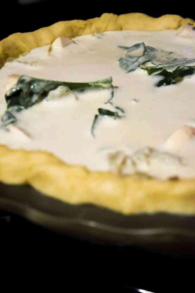 vegan egg free vegetable quiche recipe