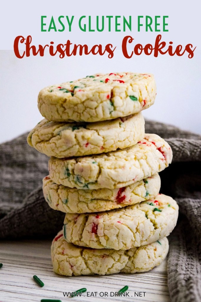 gluten free christmas cookie easy to make