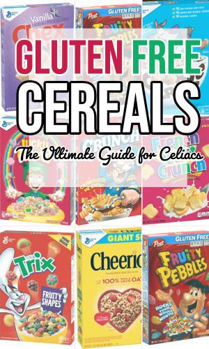 gluten free cereals the ultimate guide for certified gluten free cereal