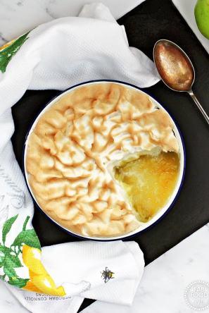vegan apple meringue recipe fall allergy free