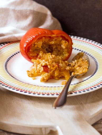 easy stuffed peppers recipe