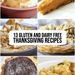 13 gluten and dairy free thanksgiving recipes title picture