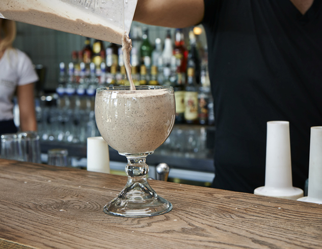 A milkshake at Hudson's The Burger Joint. Photo courtesy of the restaurant.