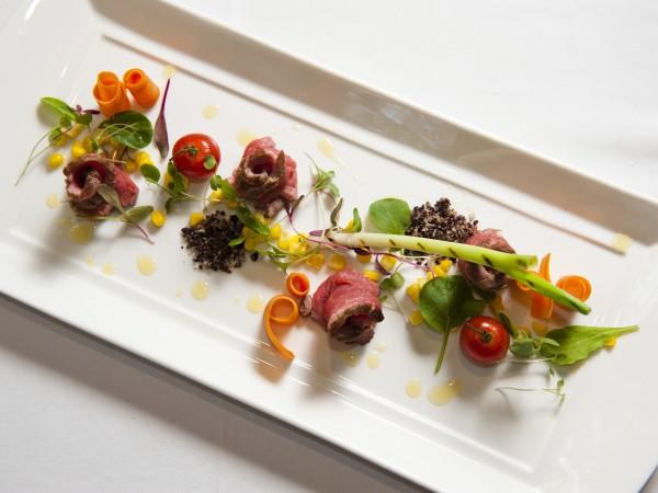 An elegant dish at La Madeleine. Photo supplied.