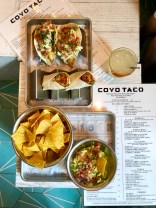 Coyo Taco Dishes