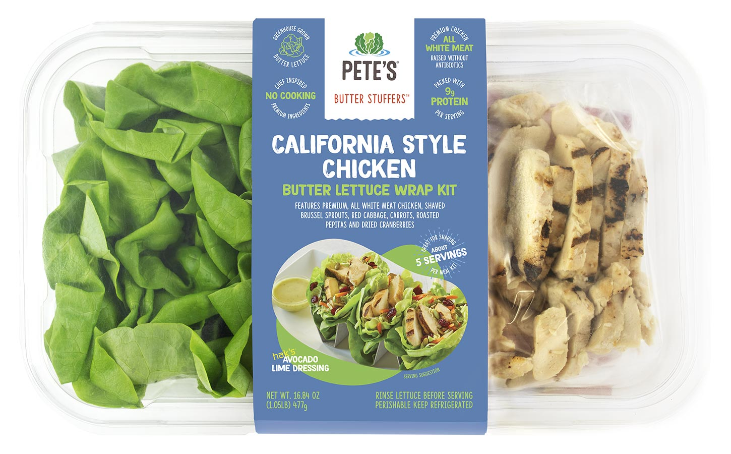 california lettuce style butter lettuce wrappers