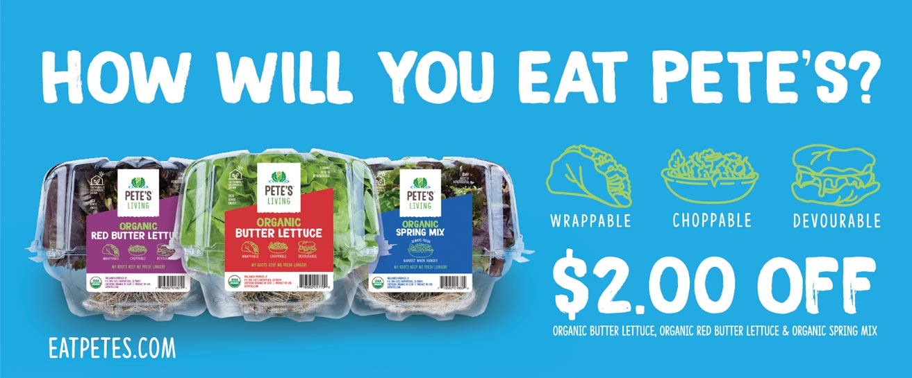 Pete's lettuce coupons