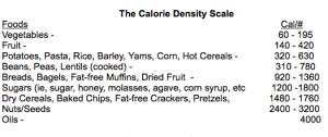 jeff novick caloric density
