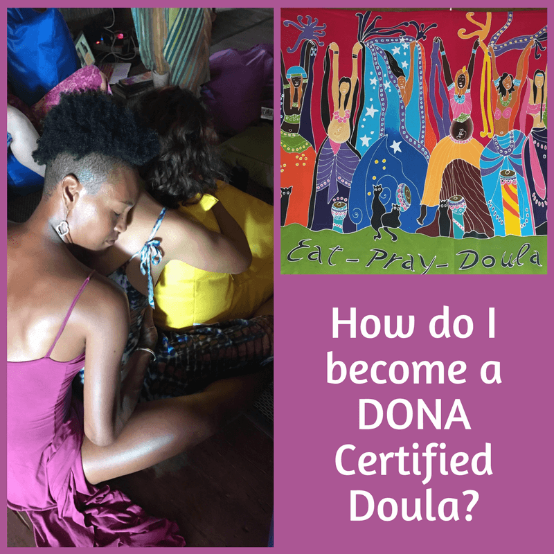 How do I become a DONA Certified Doula