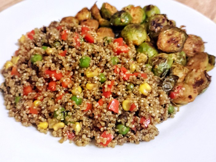 Eat Right Naija Mushroom-quinoa-brussels-sprouts_1