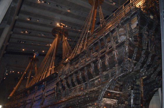 The Vasa from the back