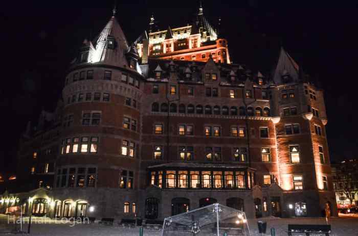 The Chateau Frontenac