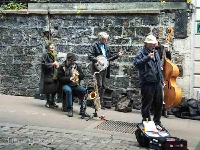 Local Musicians on the Rue De Abessess