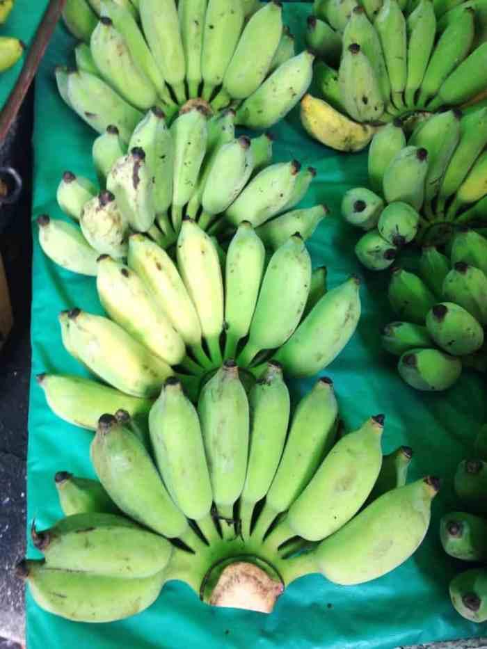 Little Asian bananas