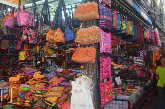 Chattachuk market...the skinny shopaholics dream. The curvy girl's nightmare.