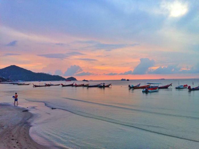 Sairee Beach, Koh Tao from Eat Sleep Breathe Travel