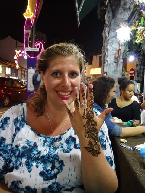 My Indian henna