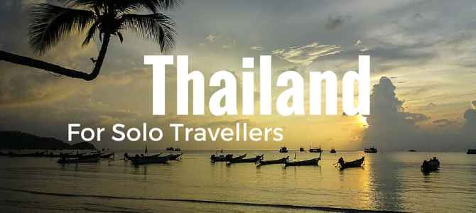 Best Places to Travel Solo: Thailand