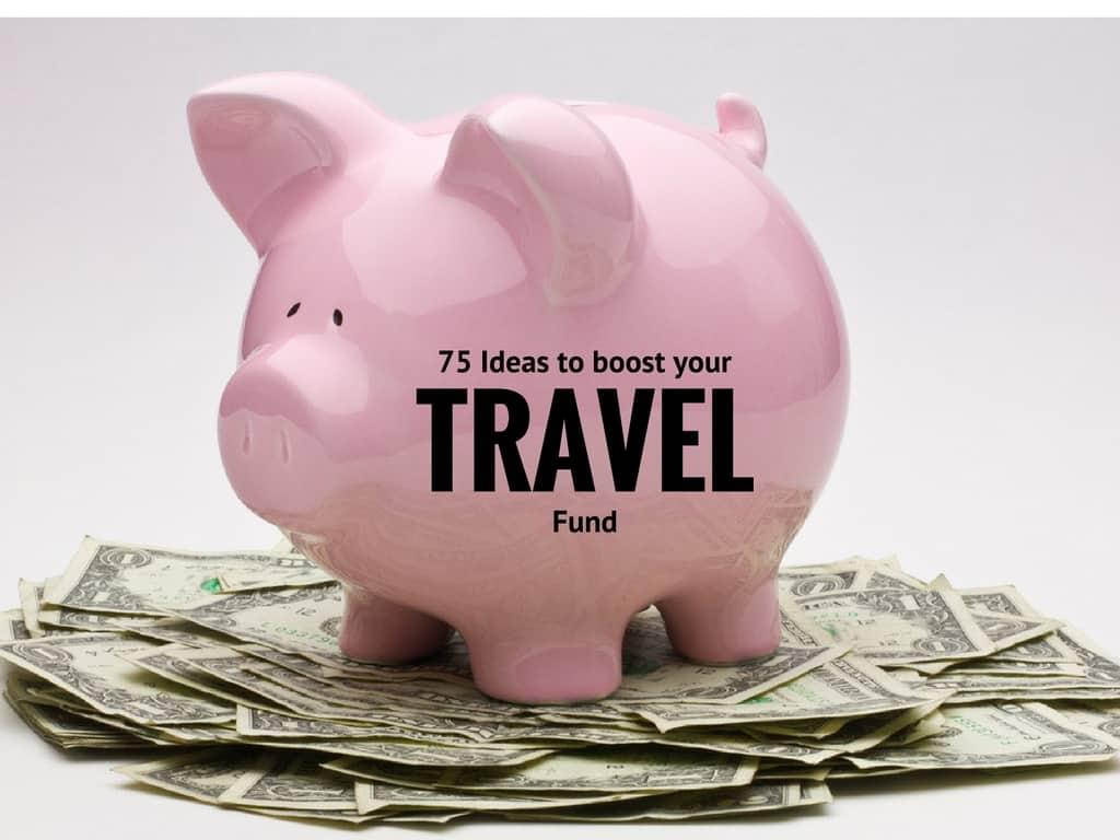 ideas to save travel money