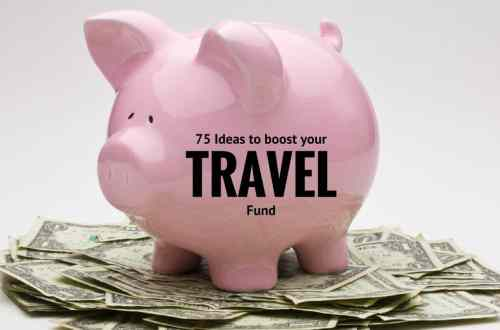 ideas to save travel money