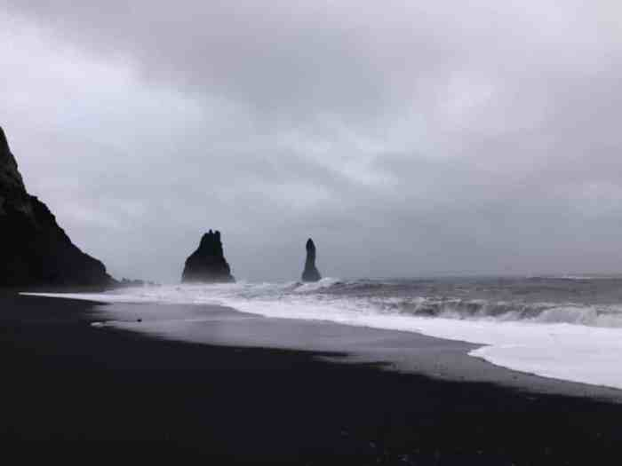 black sand beach- south coast Iceland