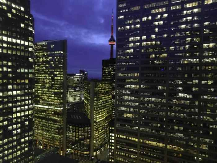 One King West Hotel skyline