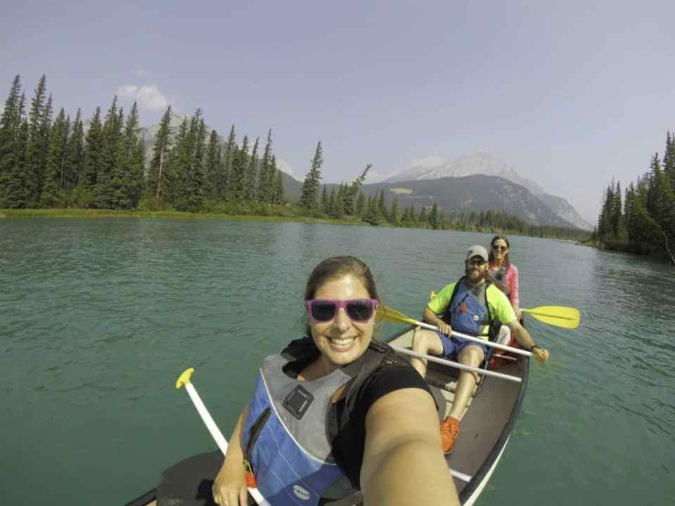 Bow River Canoe