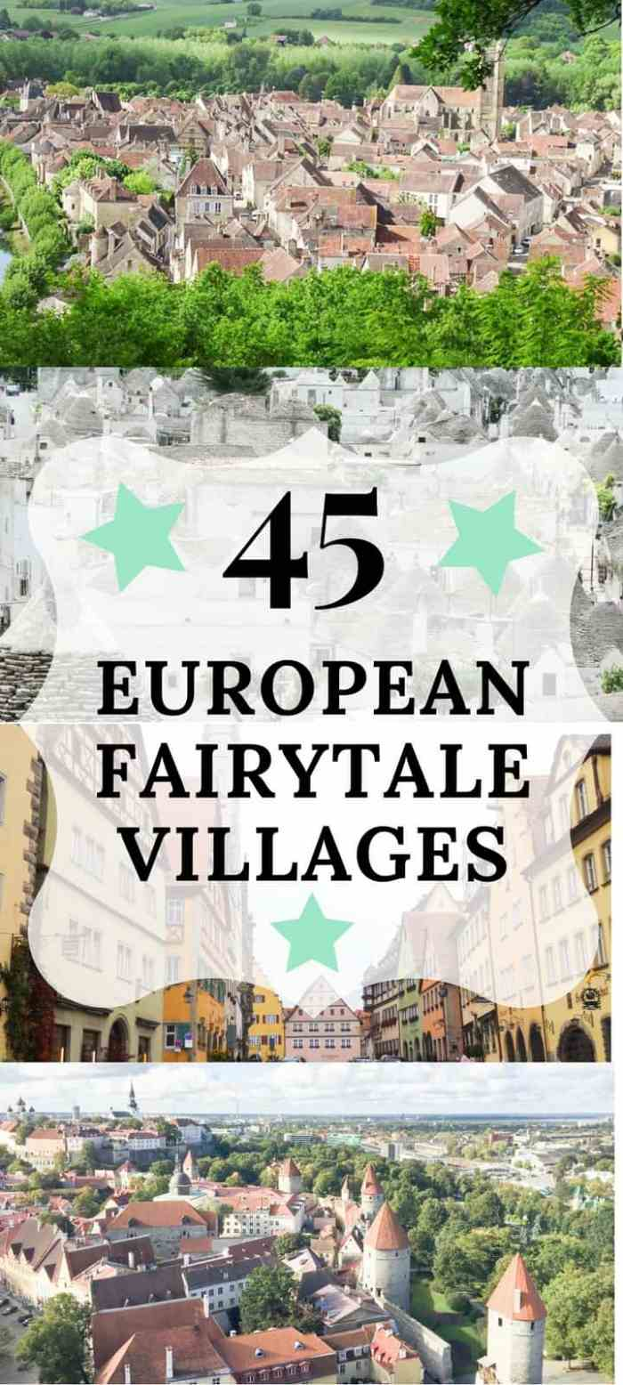 European Fairytale Towns