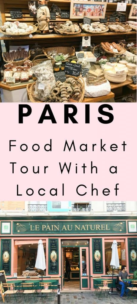 Paris Food Market Tour With Local Chef