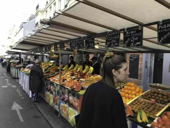 Paris food market tour