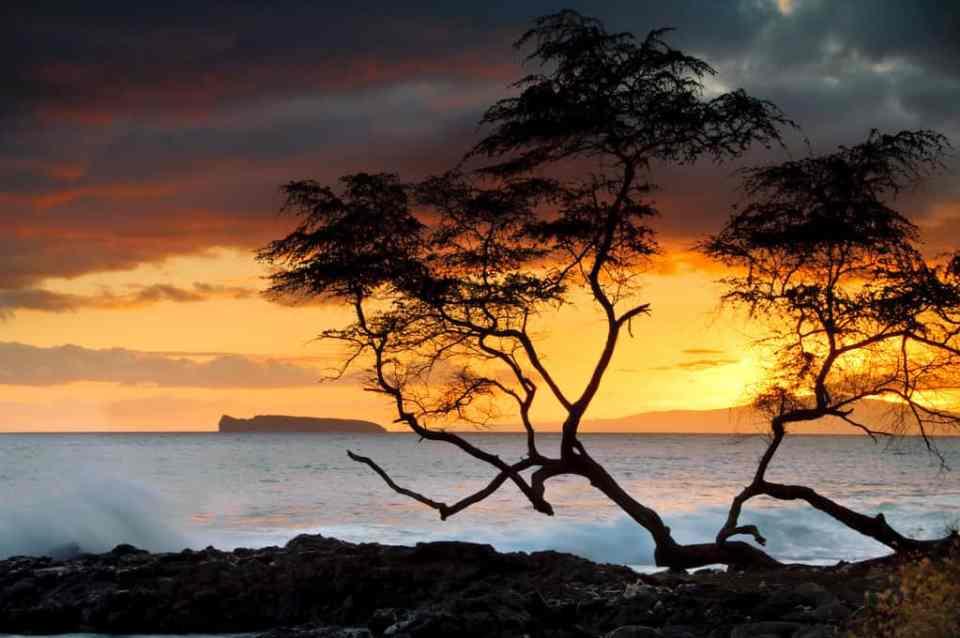 Lanai Sunset Hawaii