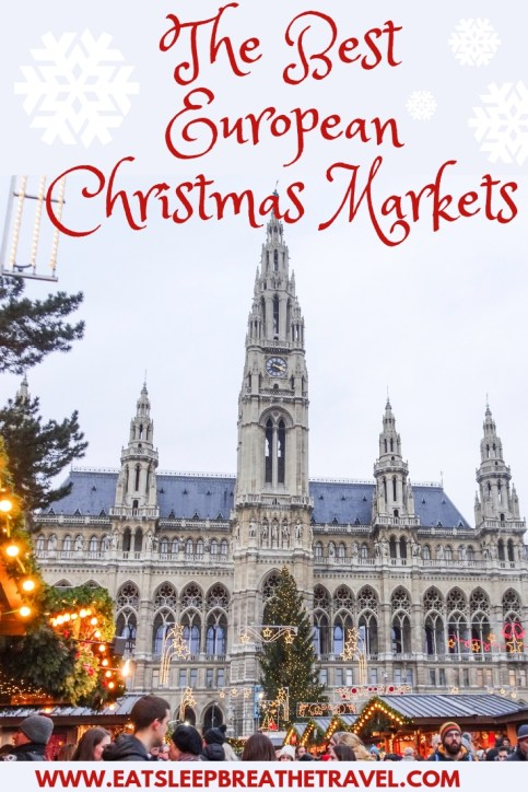 Looking for the best European Christmas Markets? From Germany and Austria to the UK and Switzerland, here are the best Christmas Markets in Europe. #Christmas #ChristmasMarkets #EuropeanChristmasMarkets