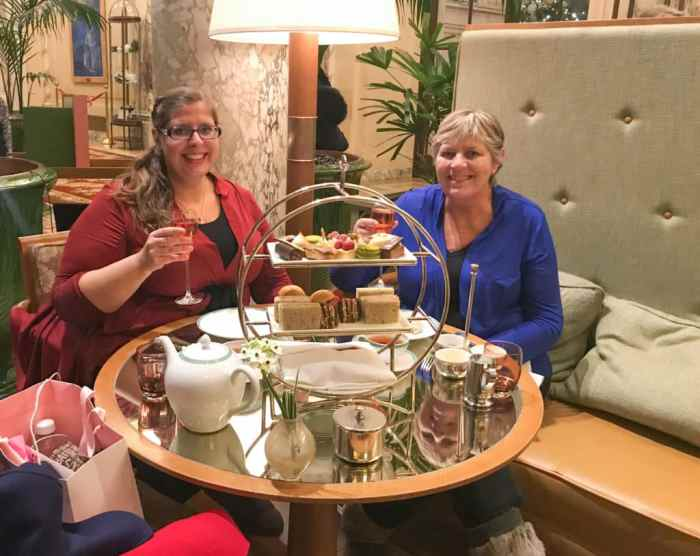 Afternoon Tea at the Plaza NYC